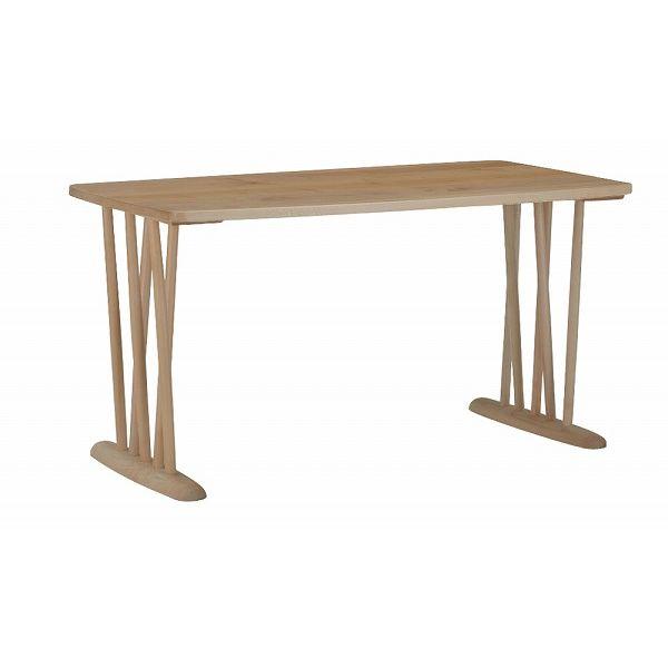 ミキモク ダイニングテーブル 楓の森 ナチュラル 角丸タイプ 90×180cm KMT-1810 KML-752 KNAの写真