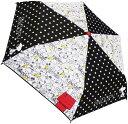 スヌーピー キャラクター折畳傘(モノトーン) 060995画像