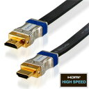 ハイパーツールズ HDMIフラットケーブル TypeA 3m HM-FLT-3M