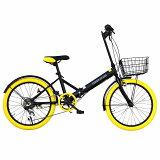 AIJYU CYCLE /アイジュサイクル 20インチ 折りたたみ自転車 AJ-03-YL