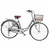 AIJYU CYCLE /アイジュサイクル 26インチ ノーパンク シティサイクルAJC-26N-SI