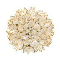 カピスシェルペンダントランプ(ホワイト色)(4351)