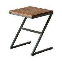 サイドテーブル (Z字型)アイアンフレーム(63702)