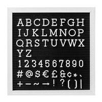 レターボード ブラック Sサイズ  66750の写真