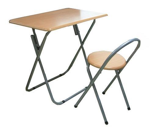 イス付フォールディングテーブルセット(机+椅子)