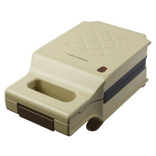 レコルト プレスサンドメーカーキルト ベージュ RPS-1BE(1台)