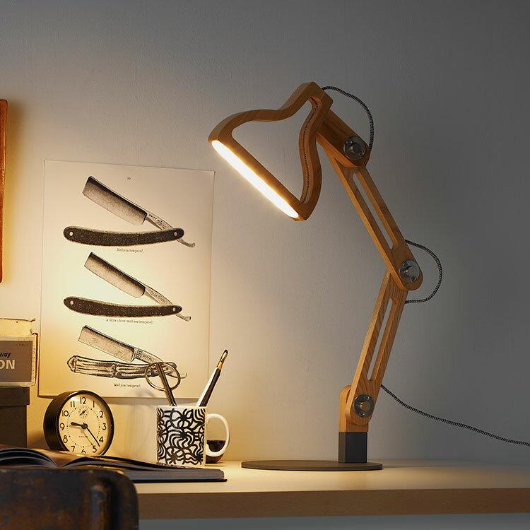 LED内蔵 テーブルライト ルミエール ポルックス LPO-T デスクライトの写真