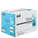 TANOSEE αエコペーパー タイプSL A4 500枚×5冊/箱  AESL-A4