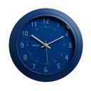 モトデザイン 壁掛けアナログ時計 260×40×260mm ブルー ML-478D-YBL ML-478D-Y