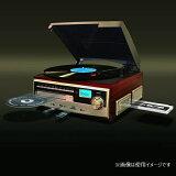 ベルソス マルチレコードプレーヤー ブラウンウッド調 VS-M001