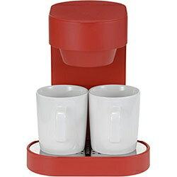 プラマイゼロ コーヒーメーカー2カップ XKC-V110(R)の写真