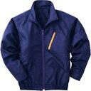 空調服 長袖ブルゾンタイプ(作業服) ワイドファン付き Lサイズ ネイビー P-500BNC03S3
