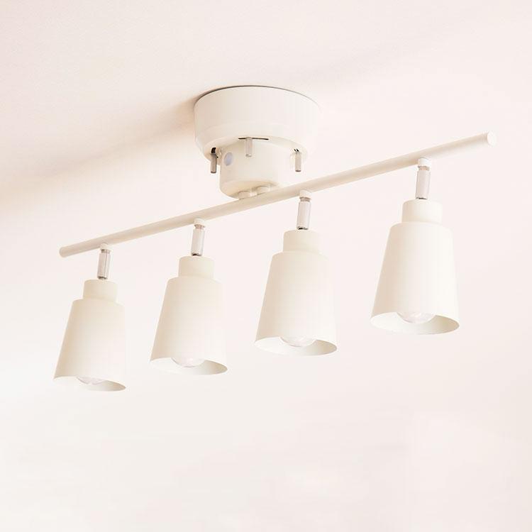 リモコン LED  シーリングライト 4灯 putki プッキ aina  アイナ 天の写真