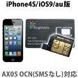 Kingmobile(キングモバイル) iOS7対応 ソフトバンクiPhone 4S/au専用 SIMロック解除アダプタ