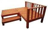 ウッドデッキ 天然木 シダー製 縁台リニューアル 0.75坪 7点セット ライトブラウン