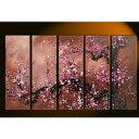 東京アートラボ 油彩花画 5枚組 GF740 gf-740