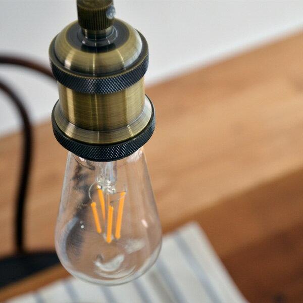 ペンダント ソケット 1灯 真鍮 電球別売り 1灯金具 E26の写真