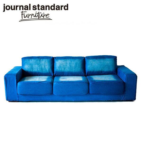 journal standard Furniture FRANKLIN SOFA DENIM 3Pの写真