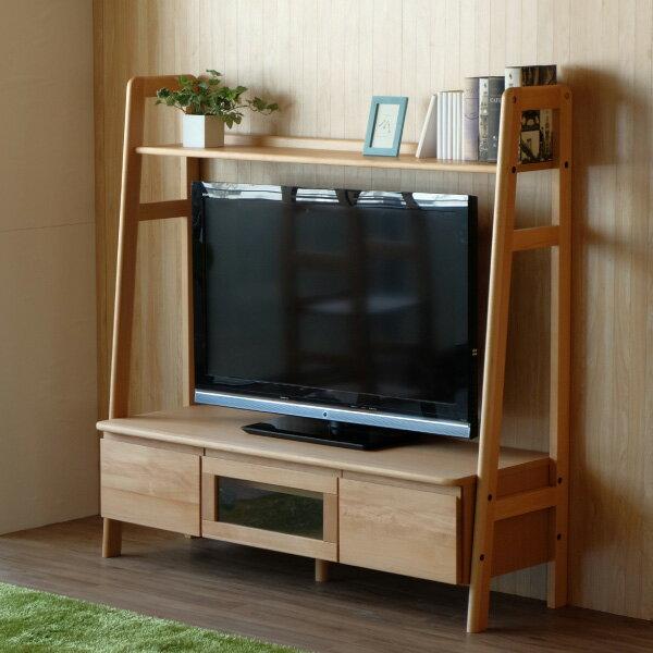 ISSEIKI エルザ 135 テレビボード (ナチュラル)の写真