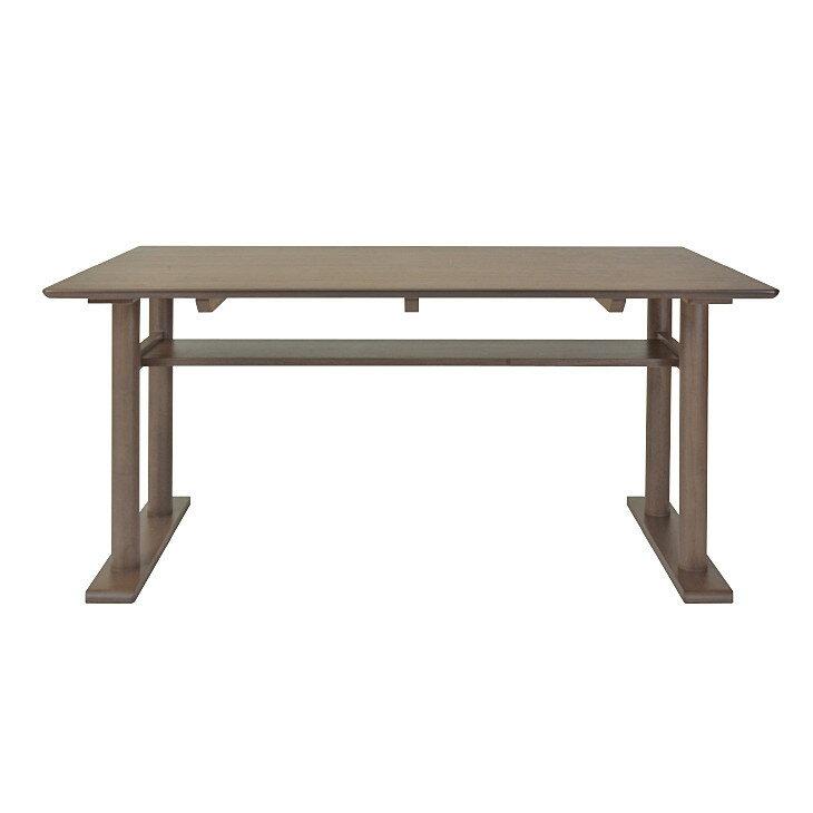 ISSEIKI ミーテ ダイニングテーブル 140  (ミディアムブラウン)