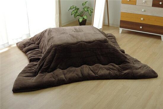 イケヒコ 17フランIT 正方形/ブラウン/掛布団サイズ:185×185cmの写真