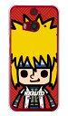 (スマホケース)ナルト疾風伝シリーズ NARUTO×PansonWorks ズーム 波風ミナト (クリア)/ for HTC J butterfly HTL23/au画像