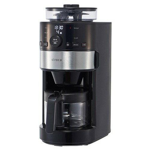 シロカ コーン式全自動コーヒーメーカー SC-C111(1台)の写真