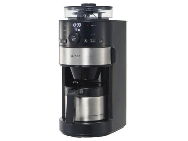 siroca コーン式全自動コーヒーメーカー SC-C122の写真