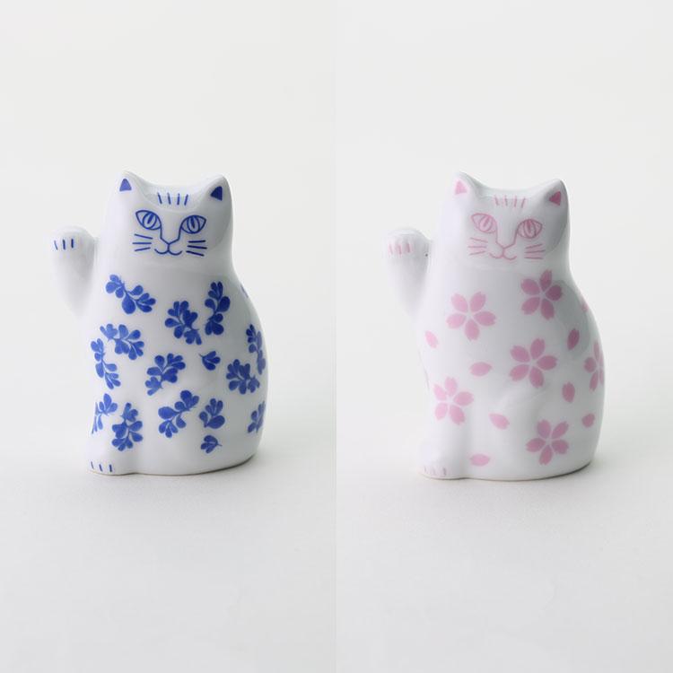 リサラーソン まねくねこのこ 縁起物 置物 リサラーソン Lisa Larson japan series 波佐見焼 招き猫の写真