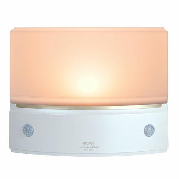 エルパ もてなしのあかり・LED足元灯 3W電球色LED 据置き型・薄 HLH-1203(PW)(1コ入)の写真