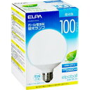 エルパ(ELPA) ボール電球形蛍光ランプ 100W形 E26 昼光色 EFG25ED/21-G101H