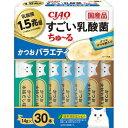 いなば すごい乳酸菌ちゅ~るかつおバラエティ30本 いなば食品 SC-384
