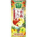 カゴメ 野菜生活100 青森りんごミックス(195mL*24本)画像