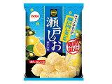 栗山米菓 瀬戸の汐揚 瀬戸内レモン味 83g
