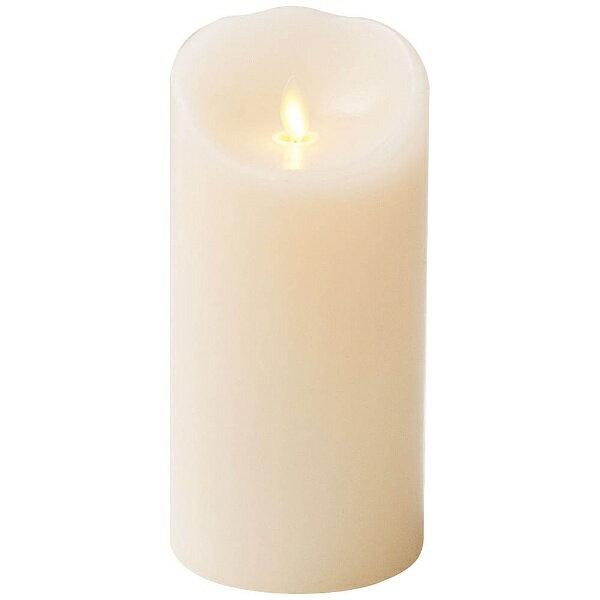 商品コード:NLM0105 LEDキャンドル ルミナラピラー アイボリー 3×6
