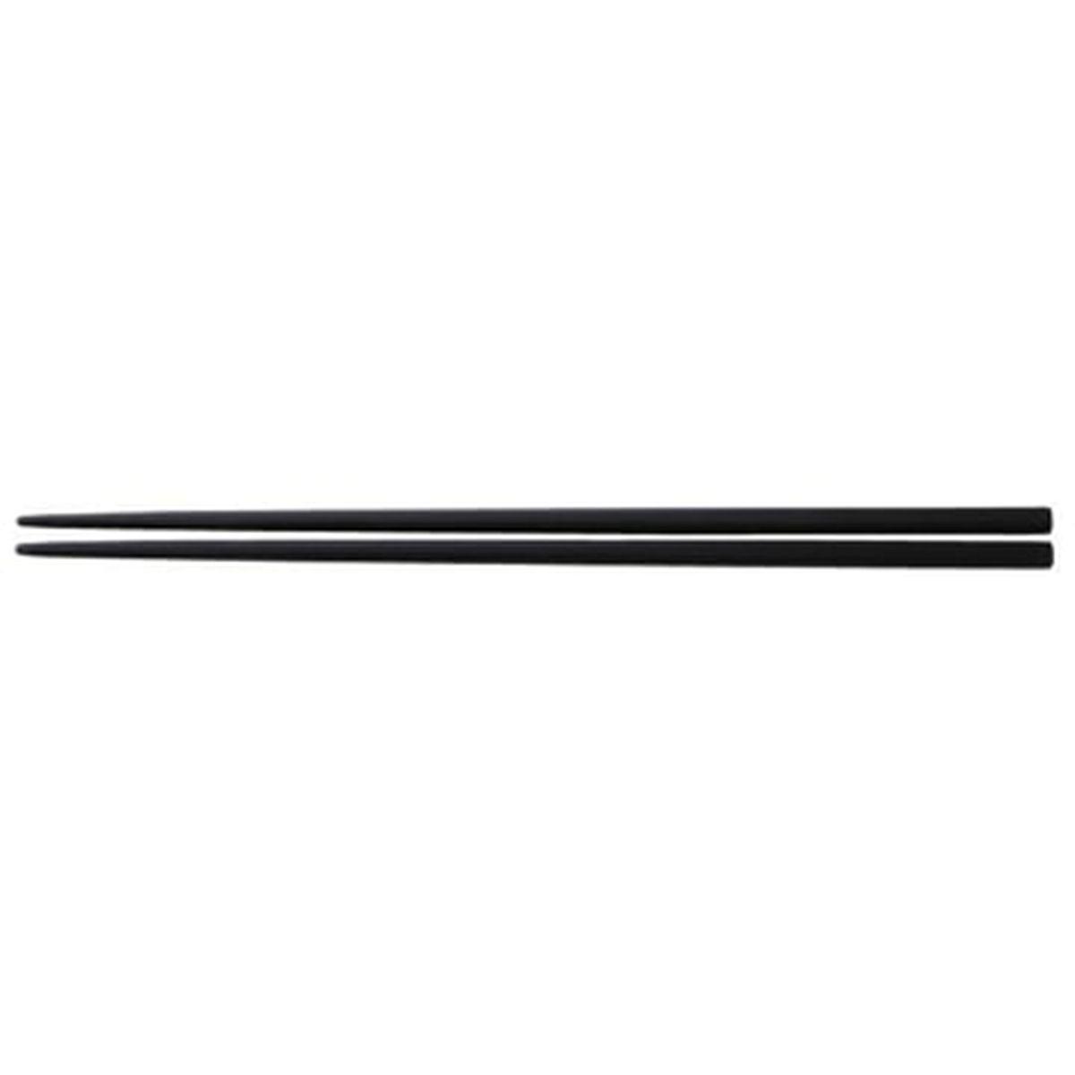 脇 雅世 O.E.C.シリーズ シリコーン菜箸 黒(1コ入)の写真