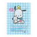 ポチャッコ A4見開きクリアファイル(フレンズ) Sanrio Original サンリオ 084999