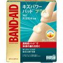 バンドエイド キズパワーパッドプラス ひじ・ひざ用(3枚入) バンドエイド(BAND-AID) ジョンソン・エンド・ジョンソン