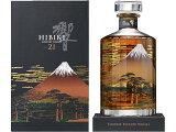 サントリー 響21年意匠ボトル 富士風雲図 2014