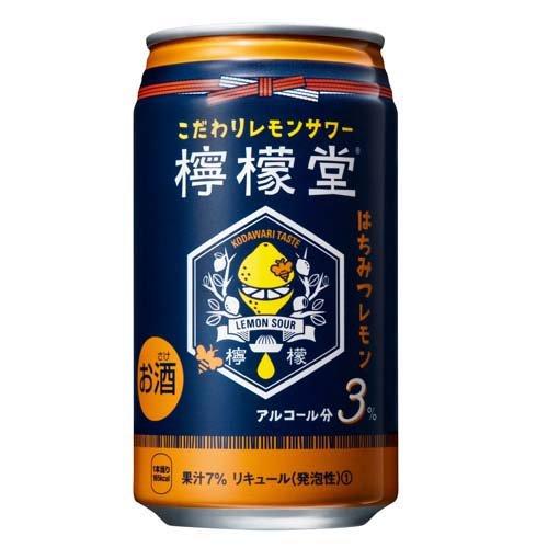 コカ・コーラ 檸檬堂 はちみつレモン
