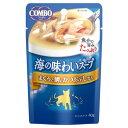 日本ペットフード コンボキャット 海の味わいスープ かつおぶし 鯛 40g