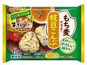日本水産 R枝豆こんぶおにぎり(あさげ封入)6個307.3g ニッスイ