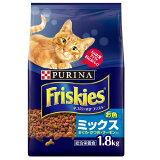 フリスキードライ お魚ミックス まぐろ・かつお・サーモン入り 1.8kg