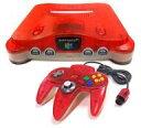 Nintendo 64 本体 クリアレッド 任天堂