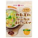 ひかり味噌 野菜と寒天をおいしく食べる具だくさんスープ 5食