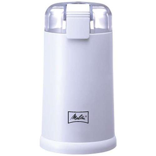 メリタ 電動コーヒーミル ホワイト ECG62-3W(1台)の写真