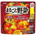 明治 まるごと野菜 完熟トマトのミネストローネ