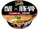 明星食品 明星 HYBRID X crab台風。蟹そば