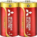 三菱 アルカリ乾電池 GD 単1形 2本パック LR20GD/2S