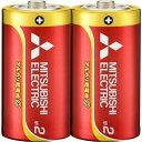 三菱 アルカリ乾電池 GD 単2形 2本パック LR14GD/2S
